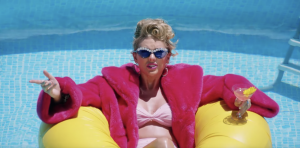 Capture d'écran du clip de Taylor Swift